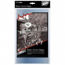 UP - Comic Bags - Silver Size -100 Fundas