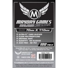 Fundas Mayday Magnum Silver Card Game 70x110