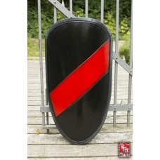 2nd Quality - RFB Shield Large Black - Red