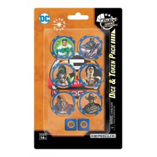 DC Comics HeroClix - 15th Anniversary Dice and Token Pack