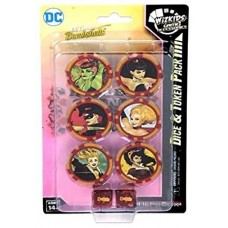 DC Comics HeroClix - Harley Quinn and the Gotham Girls Dice and Token Pack - EN
