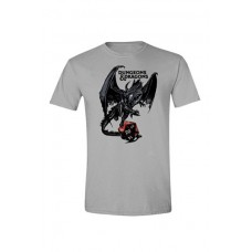 Dungeons and Dragons Camiseta Dragon Logo - Talla M