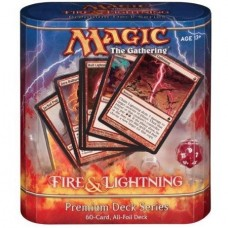 Fire and Lightning Premium Deck Magic the Gathering