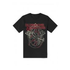 Camiseta Dungeons and Dragons Logo - Talla S