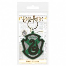 Pyramid Rubber Keychains - Harry Potter Slytherin
