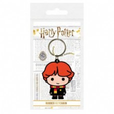 Pyramid Rubber Keychains - Harry Potter Ron Weasley Chibi