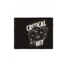 Dungeon and Dragons Monedero Bifold Critical Hit
