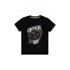 Dungeon and Dragons Camiseta Critical Hit S